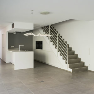 Maison bi-familiale, 45 rue de Medernach à Larochette.