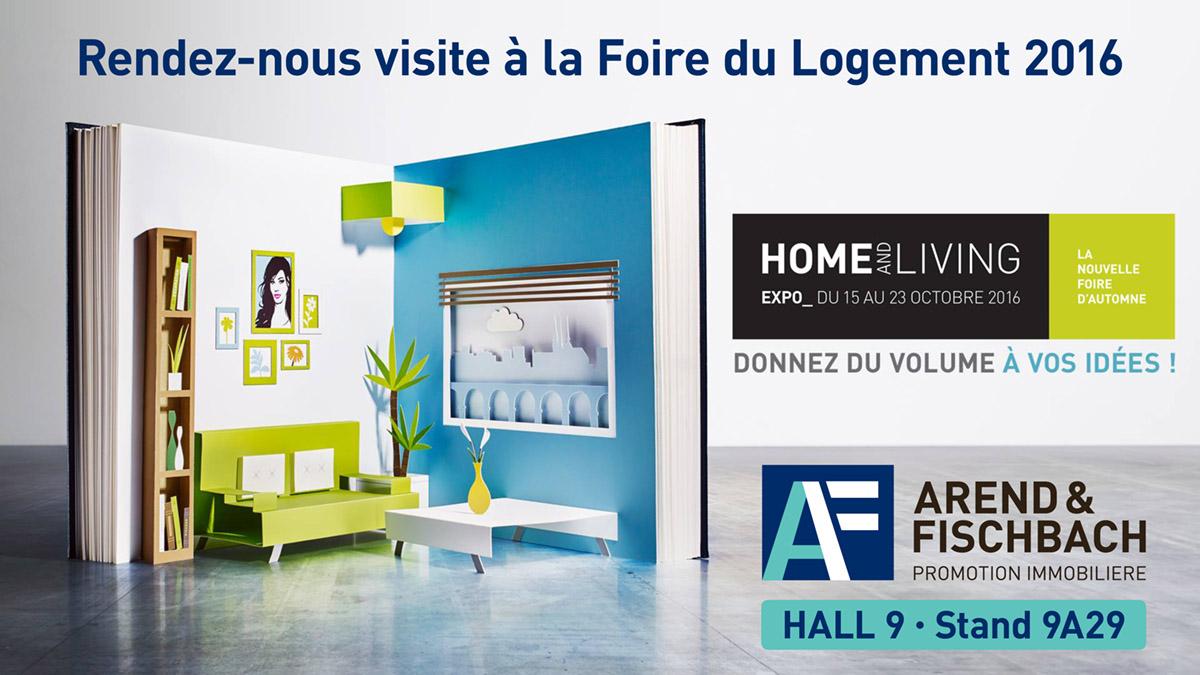 Foire Home and Living Expo. Semaine du Logement 2016.