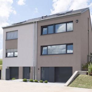 Maison Témoin lot 42 à Hollenfels/Mersch, vue avant