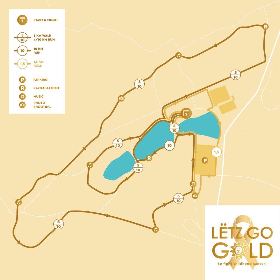 Lëtz Go Gold Parcours 2018