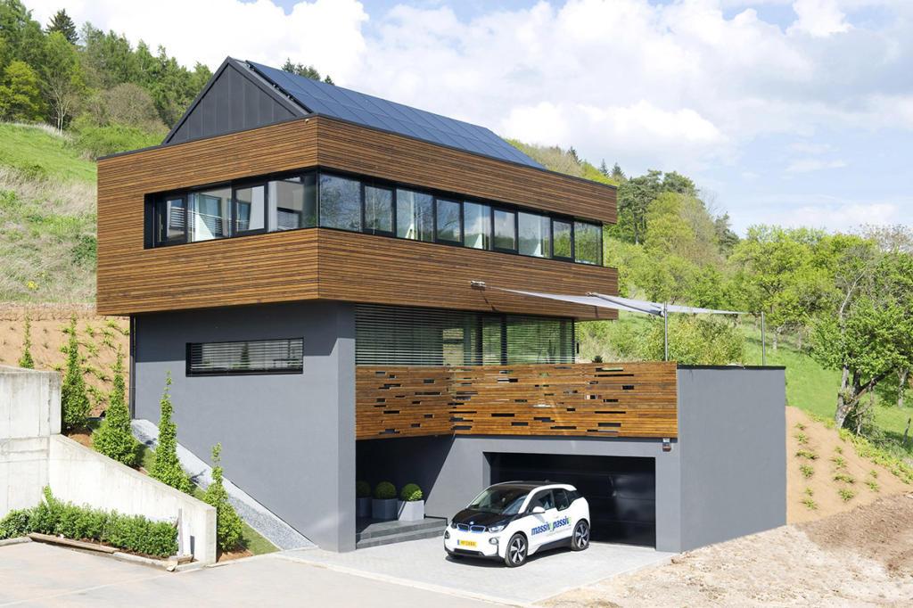 Ökologisches Massivholzhaus in Mersch